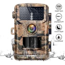 Campark Trail Camera 14MP 1080P 75ft/23m Wild Game Hunting S