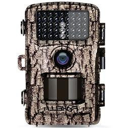 Foxelli Trail Camera – 14MP 1080P Full HD Wildlife Scoutin