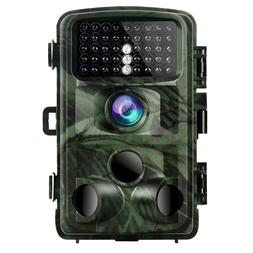 Trail Camera 14MP 1080P Game Camera Night Vision Motion Acti