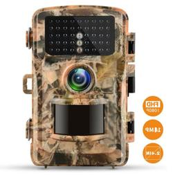 Campark Trail Camera 14MP 1080P Game Wild Hunting Cam IR Nig