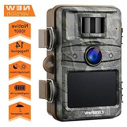 trail camera 14mp 1080p game and hunting