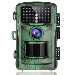 Trail Camera 14MP 1080P Hunting Camera with Night Vision Mot