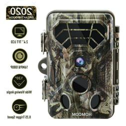 16MP Trail Camera for Hunting Outdoor Tree Cam Night Vision
