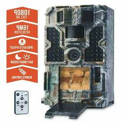 TOMSHOO Trail Camera 16MP 1080P Wildlife Hunting Camera with