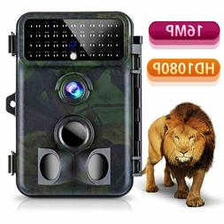 Tvird Trail Camera 16MP 1080P Wildlife Super Night Vision Mo