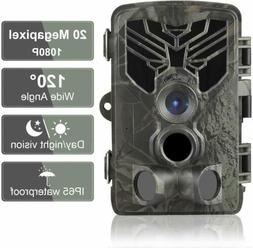 Trail Camera 20MP 1080P Waterproof Game Hunting Scouting Cam