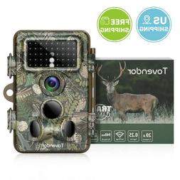 Trail Camera 20MP Wildlife Monitor Night Vision Motion Activ