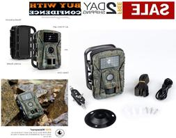 Trail Camera Motion Activated Outdoor Security Hidden Wildli