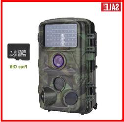 Trail Camera Nicam 1080P Hunting with Night Vision 12MP Game