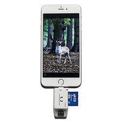 Trail Camera SD Card Reader Hunting Viewer Micro USB Connect