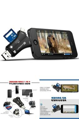 MOSPRO Trail Camera Viewer Micro Memory card Reader for iPho