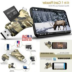 Trail Cameras Viewer Micro SD Card Reader Adapter Super Spee