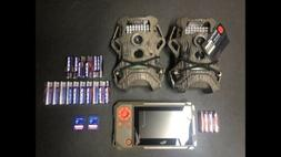 Trail Cameras cams lot of 2 Starter, Cloak 14 cams ,2 SD car
