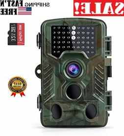 Trail Cameras 16MP 1080P Full HD,Night Vision Motion Activat