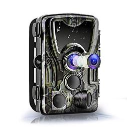 Henf Trail Game Camera 16MP 1080P, Hunting Camera with No Gl