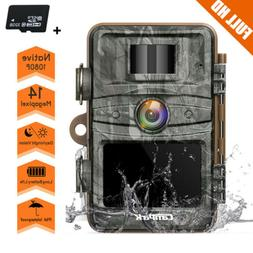 trail game camera 1080p 14mp wild hunting