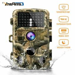 Campark Trail Game Camera 14MP FHD 1080P Waterproof IR Hunti