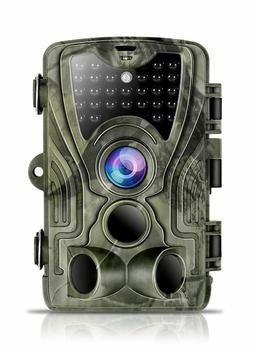 Trail Game Camera 16MP 1080P 120°Detect Range Motion Activa