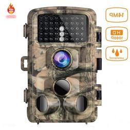 Campark Trail Game Camera FHD 1080P 14MP Hunting Wildlife Ca