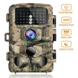 Campark Trail Game Camera FHD 1080P 16MP Hunting Wildlife Ca
