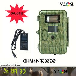 Boly Trail Game Camera SG565F-14mHD14MP 720p HD video Xenon