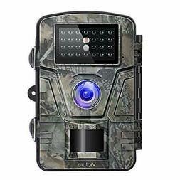 Trail Game Camera with Night Vision Motion Activated 1080P 1