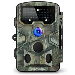 APEMAN Trail Game Hunting Camera 12MP 1080P 120° Wide Angle
