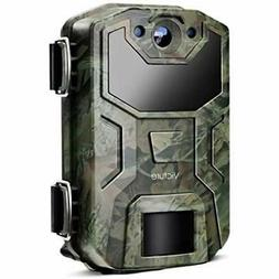 "Victure Trail Camera 16MP 1080 HD 2.0"" LCD Game Cam Night Vi"