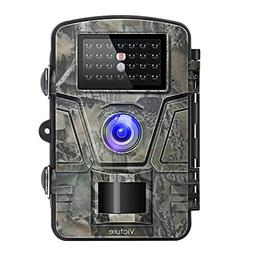 【Upgraded】Victure Trail Camera 1080P 12MP Wildlife Camer