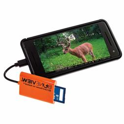 BoneView Trail Camera Viewer SD Card Reader - Type-C & Micro