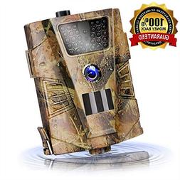 Trail Game Camera 14MP 1080P Waterproof Hunting Scouting Cam