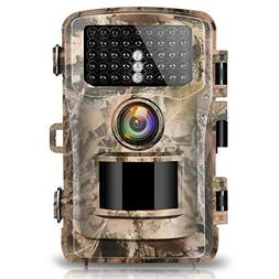 "Campark Trail Camera 14MP 1080P 2.4"" LCD Game & Hunting Came"