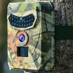 Kuool Trail Camera 12MP 1080P Full HD Hunting Camera Infrare