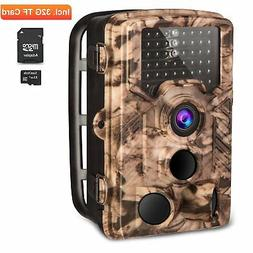 AIMTOM Trail Hunting Camera 16MP Image 1080P Video 46Pcs IR