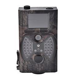 Trail Camera 12MP 1080P HD Infrared Activated Night Vision C