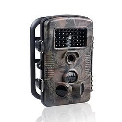 Wosports Trail Camera, 12MP Outdoor Game Hunting Camera Infr