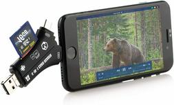 Trail SD Camera Card Reader iPhone Android Hunting Viewer Mi