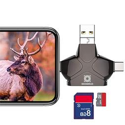 Climbose Trail Camera SD Card Reader Fits Android iPhone iPa