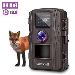 Baberdicy Trail Camera, 1080P 12MP HD Wildlife Camera Motion