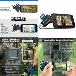 MOSPRO Trail Camera Viewer for iPhone iPad Mac & Android, SD