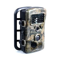 Wosports Trail Camera 1080P 12MP Wildlife Camera Motion Acti