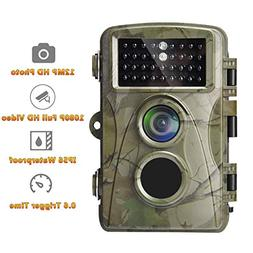 AlfaView Trail Camera 12MP 1080P Wildlife Scouting Hunting C