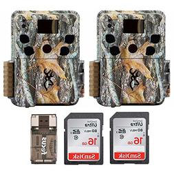 Two Browning Dark Ops HD Pro Trail Cameras  with 16GB Memory