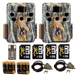 Two Browning Dark Ops HD Pro Trail Cameras  + Cable Lock, 4