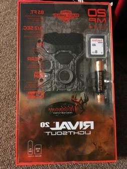 Wild Game LightsOut  Rival 20 TRAIL CAMERA - New SEALED Free