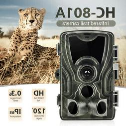 Wildlife Hunting Trail Camera 16MP HD 1080P Waterproof IR In