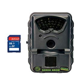 Primos Work Horse Infrared Game Camera  + 16GB SD Card