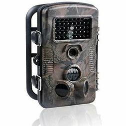 Wosports Trail Camera, 12MP Outdoor Game Hunting Infrared Ni