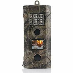 Wosports Trail Camera, 2019 Upgraded 1080P Hunting Game Wate