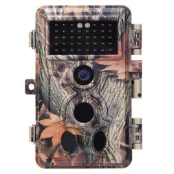 Zopu Trail Camera 16MP 1080P No Glow Night Vision, Game with